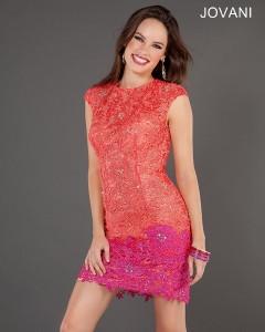 Koktejlové  šaty  skladem Jovani 73541