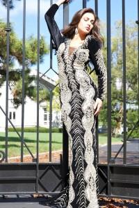 Luxusní šaty Jovani 77619