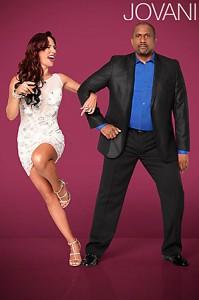 Celebrity v šatech Jovani Sharna Burgess v Jovani 93660